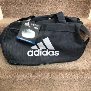 Adidas Diablo Small Duffel Hex Gym bag —New Gray
